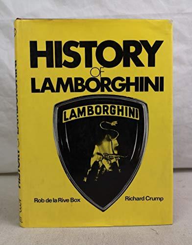 9780851840154: History of Lamborghini
