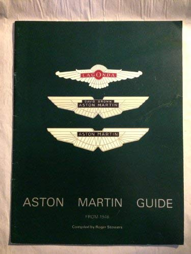 9780851840307: Aston Martin Guide from 1948