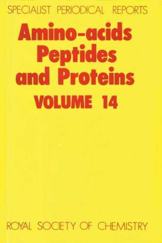 9780851861241: Amino Acids, Peptides and Proteins: Volume 14 (Specialist Periodical Reports)
