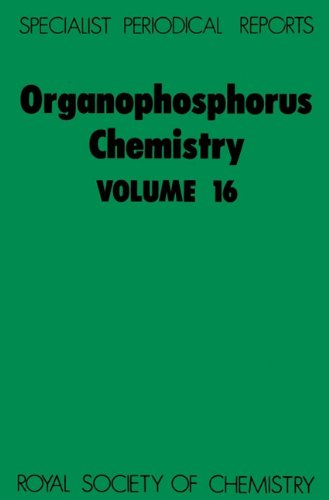 Organophosphorus Chemistry (Specialist Periodical Reports): CRC Press
