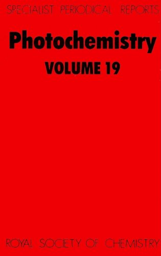 Photochemistry: Volume 19 (Specialist Periodical Reports)