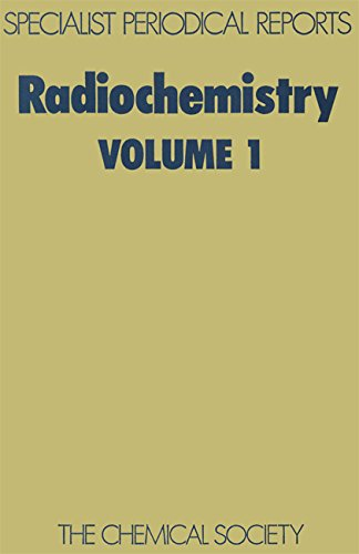Radiochemistry, Vol 1 (Specialist Periodical Reports): Geoffrey William Alexander