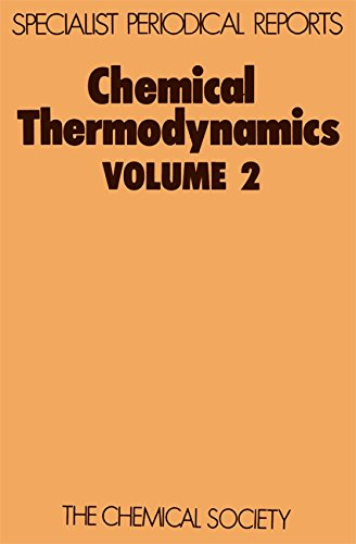 9780851862637: Chemical Thermodynamics: Volume 2 (Specialist Periodical Reports) (v. 2)