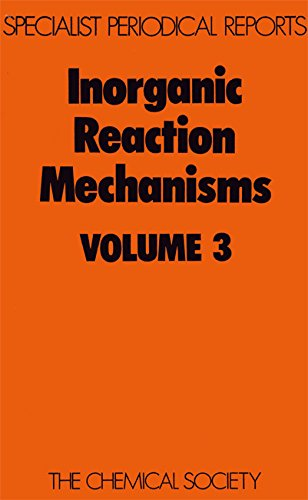 9780851862750: Inorganic Reaction Mechanisms: Volume 3 (Specialist Periodical Reports)