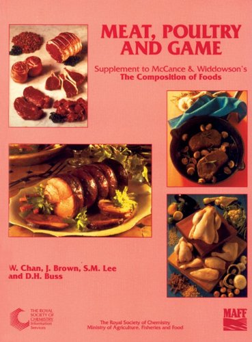 Meat Poultry and Game Fifth Supplement to: Chan W Brown