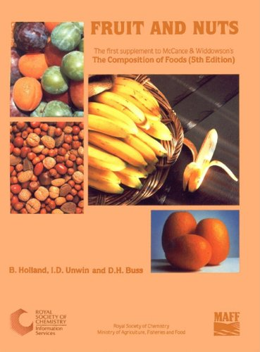 Fruits and Nuts: First Supplement to the: Holland, B./ Unwin,