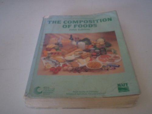 9780851863917: The Composition of Foods: 2nd suppl