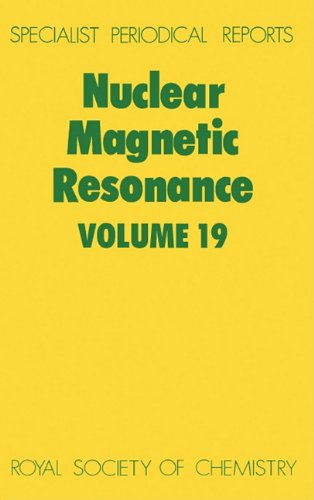 Nuclear Magnetic Resonance Volume 19: Webb, Graham A.