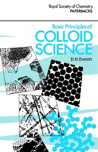 9780851864433: Basic Principles of Colloid Science