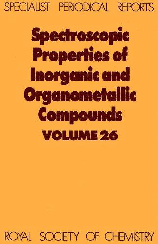 Spectroscopic Properties of Inorganic and Organometallic Compounds: G Davidson (Editor),
