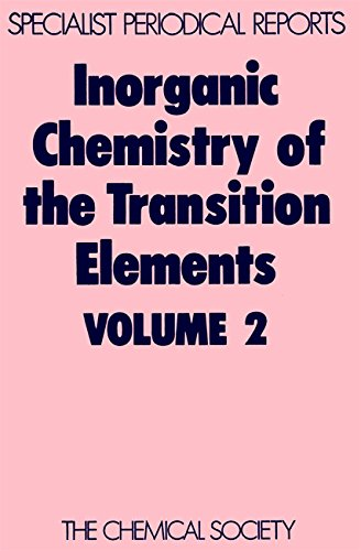 Inorganic Chemistry of the Transition Elements, Volume: Royal Society of