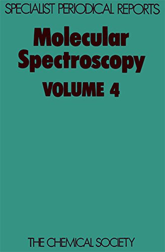 Molecular Spectroscopy Vol 4 Specialist Periodical Reports
