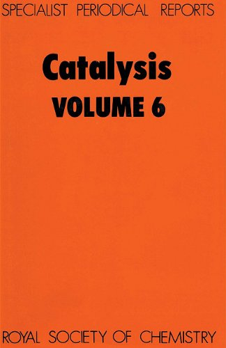 Catalysis, Vol 6 Specialist Periodical Reports