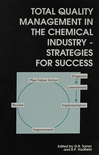 9780851866246: Total Quality Management in the Chemical Industry: Strategies for Success (Special Publications)