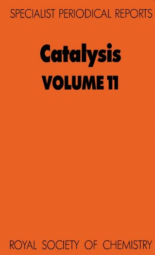 9780851866543: 011: Catalysis: Volume 11 (Specialist Periodical Reports)