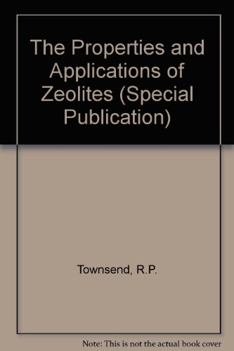 9780851866703: The Properties and Applications of Zeolites