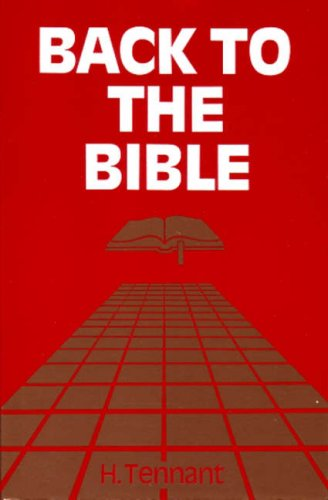 9780851890753: Back to the Bible