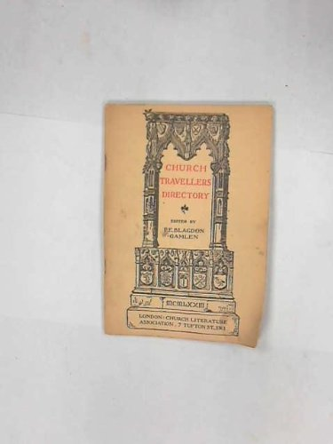 9780851910369: Church Travellers' Directory