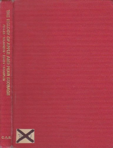 9780851982564: The Biology of apple and pear storage (Commonwealth Bureau of Horticulture and Plantation Crops, East Malling [Eng.] Research reviews)