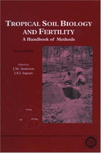 9780851988214: Tropical Soil Biology and Fertility: A Handbook of Methods
