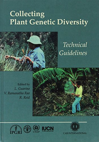 9780851989648: Collecting Plant Genetic Diversity: Technical Guidelines