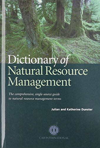 9780851991481: Dictionary of Natural Resource Management