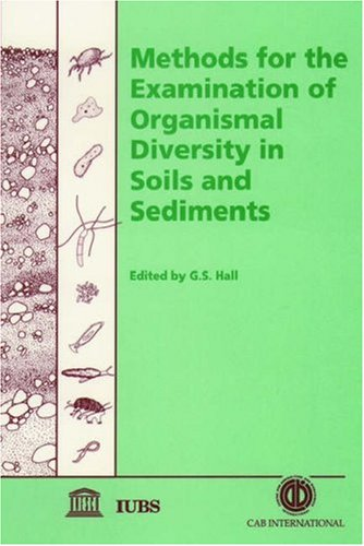 9780851991498: Methods for the Examination of Organismal Diversity in Soils and Sediments