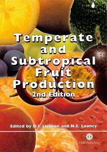 9780851992716: Temperate and Subtropical Fruit Production, Second Edition
