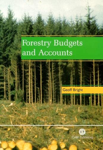 9780851993287: Forestry Budgets and Accounts