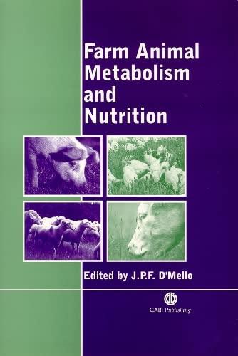 9780851993782: Farm Animal Metabolism and Nutrition