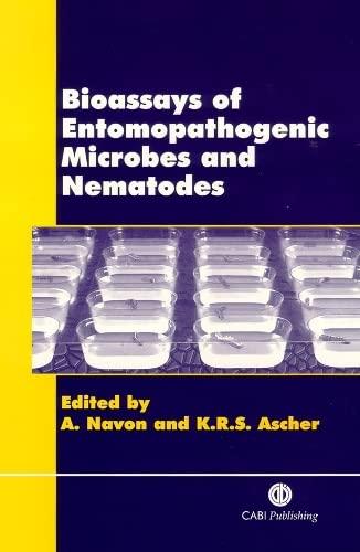 9780851994222: Bioassays of Entomopathogenic Microbes and Nematodes (Cabi)