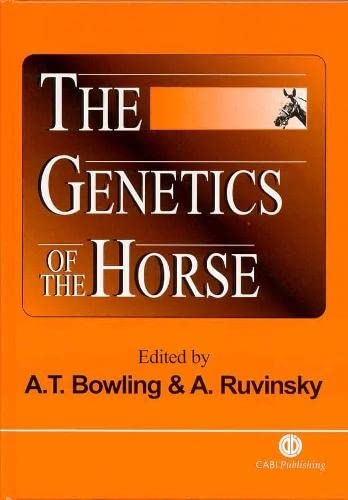 9780851994291: The Genetics of the Horse (Cabi)