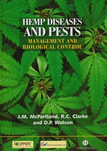 9780851994543: Hemp Diseases and Pests: Management and Biological Control