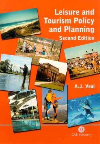 9780851995465: Leisure and Tourism Policy and Planning 2nd Edn (Cabi)