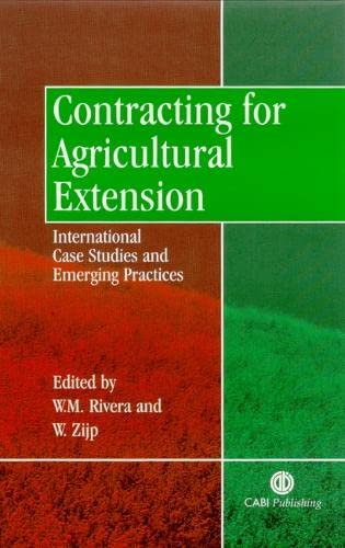 9780851995717: Contracting for Agricultural Extension