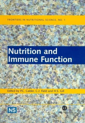 9780851995830: Nutrition and Immune Function (Frontiers in Nutritional Science)