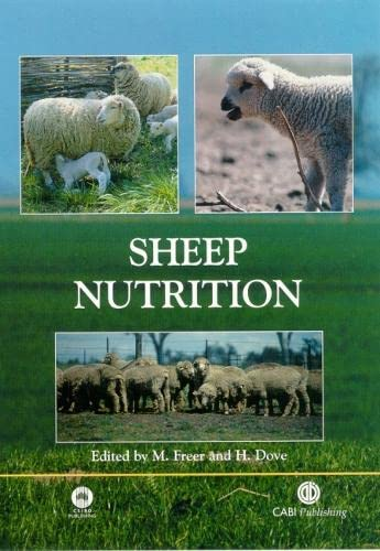 9780851995953: Sheep Nutrition (Animal Nutrition)
