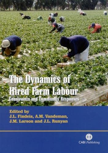 9780851996035: The Dynamics of Hired Farm Labour: Constraints and Community Responses
