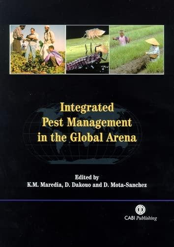 Integrated Pest Management in the Global Arena: Maredia, Karim M,
