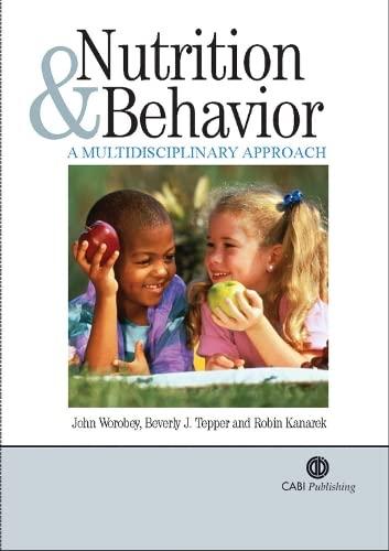 9780851996745: Nutrition and Behavior: A Multidisciplinary Approach