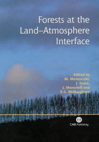 9780851996776: Forests at the Land–Atmosphere Interface