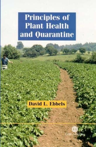 9780851996806: Principles of Plant Health and Quarantine (Cabi Publishing)