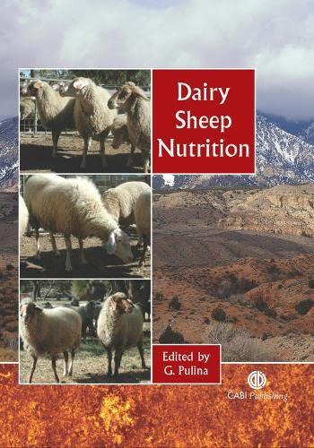 9780851996813: Dairy Sheep Nutrition