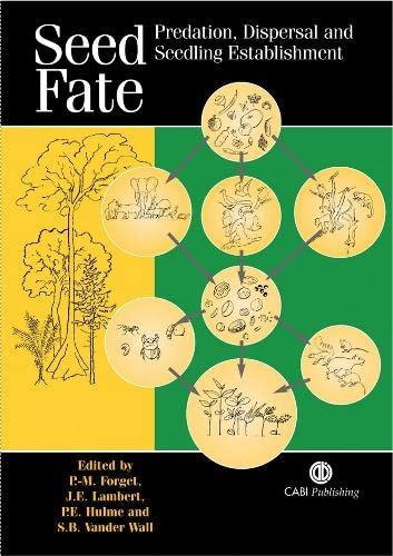 9780851998060: Seed Fate: Predation, Dispersal and Seedling Establishment