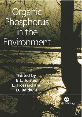 9780851998220: Organic Phosphorus in the Environment (Cabi)