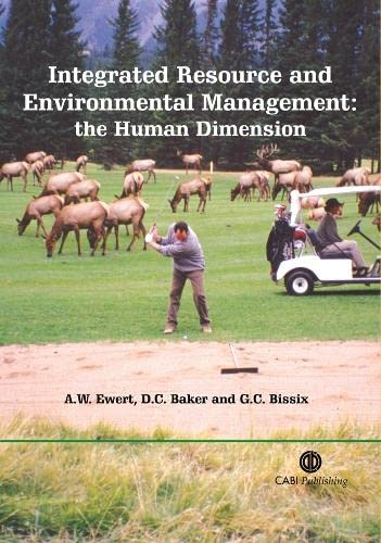 9780851998343: Integrated Resource and Environmental Management: The Human Dimension (Cabi)