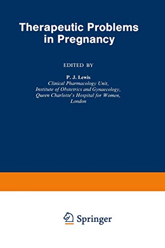 9780852001837: Therapeutic Problems in Pregnancy