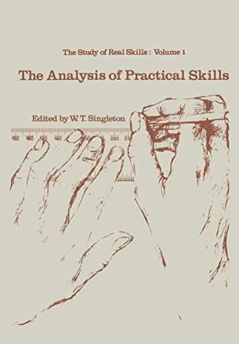 9780852001998: The analysis of practical skills (Croom Helm Biology in Medicine Series) (v. 1)