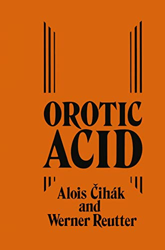 9780852002940: Orotic Acid: Synthesis, Biochemical Aspects and Physiological Role
