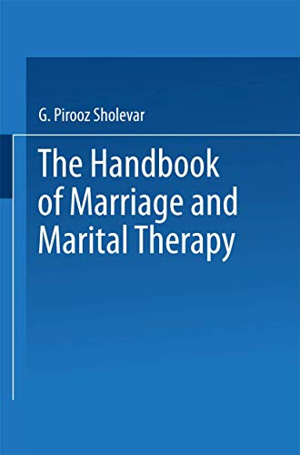 9780852005675: The Handbook of Marriage and Marital Therapy: A Handbook of Marriage and Marital Therapy